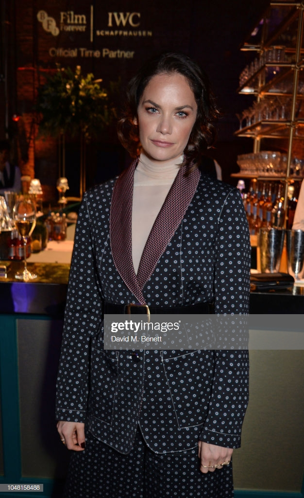 "LONDON, ENGLAND - OCTOBER 09:   Ruth Wilson attends the IWC Schaffhausen Filmmaker Bursary Award ceremony in association with the BFI at the Electric Light Station on October 9, 2018 in London, England. During the event, director Edgar Wright presented the third annual ""IWC Schaffhausen Filmmaker Bursary Award in Association with the BFI"" worth £50,000.  (Photo by David M. Benett/Dave Benett/Getty Images for IWC Schaffhausen)"